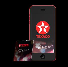 Spaar Texaco Stars bij iedere aankoop